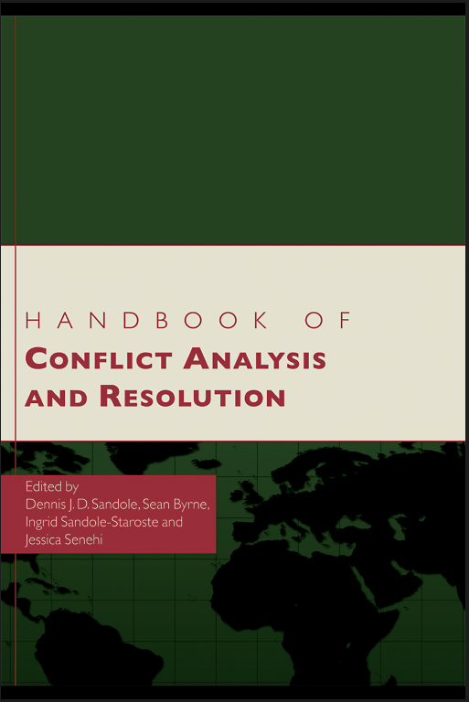 [review] Handbook of Conflict Analysis and Resolution